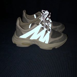 Steve madden maximus reflective sneakers